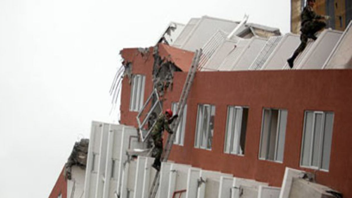 Confirman que el costo de demolición de edificios colapsados en Biobío no será traspasado a propieta