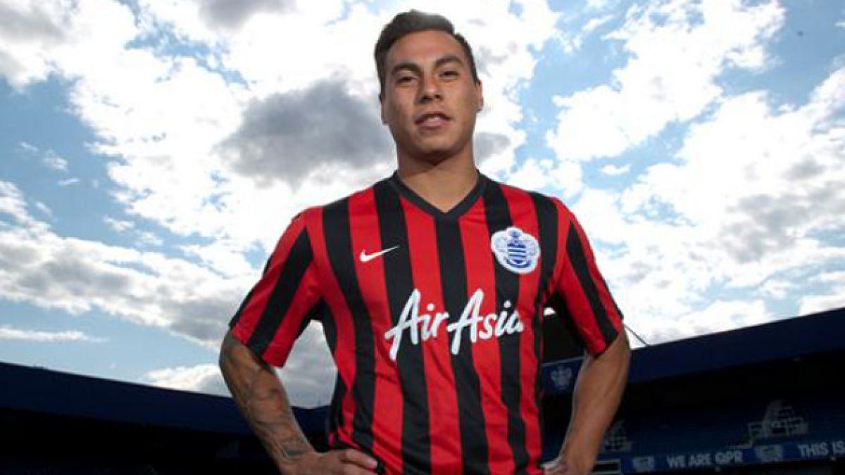 Eduardo Vargas obtiene permiso para debutar con QPR en la Premier League