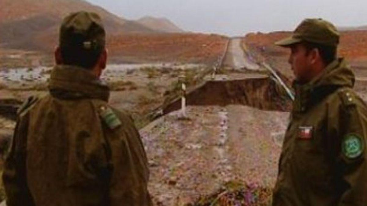 Ejército logra recuperar escuela rural dañada por invierno altiplánico