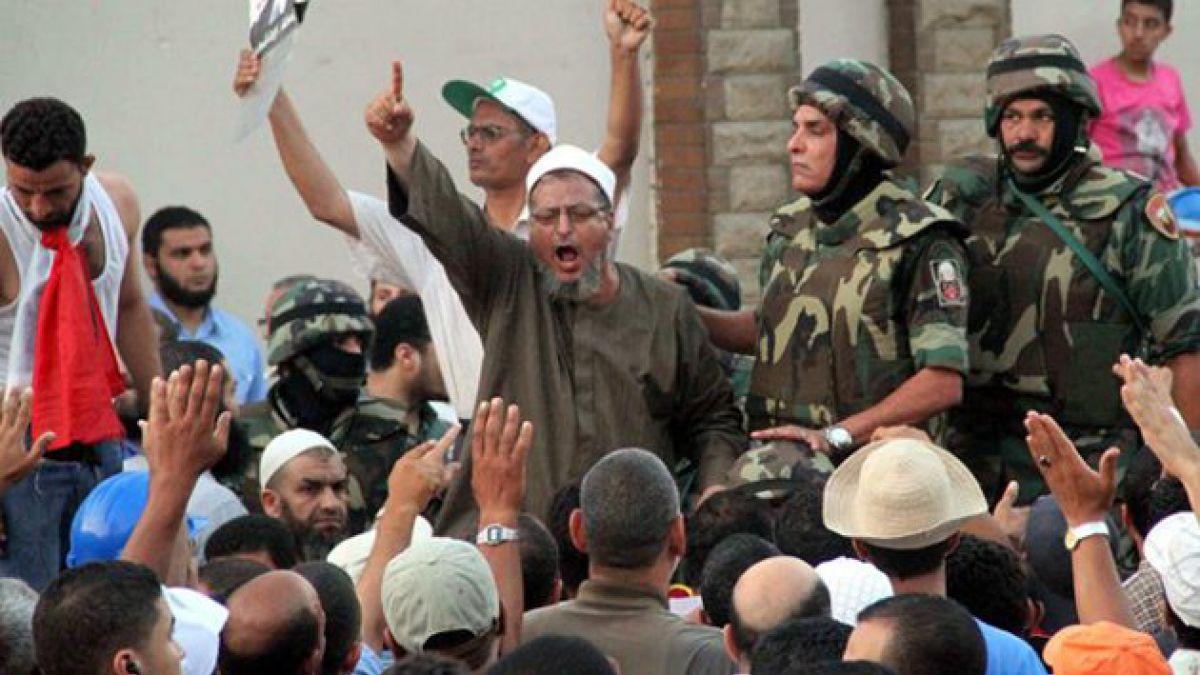 EE.UU. ordena evacuar embajada en El Cairo tras golpe de Estado