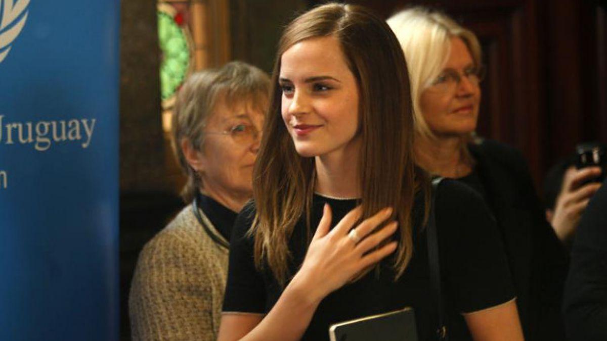 Emma Watson continúa en Latinoamérica: Ahora está en Uruguay