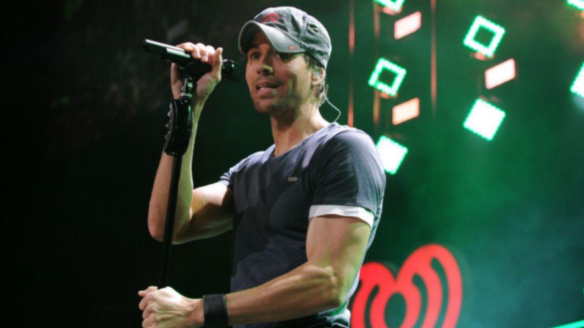 Enrique Iglesias se presentará en Chile a fines de mayo