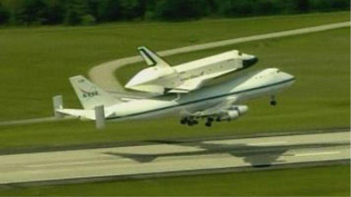 Transbordador Enterprise realizó su último vuelo