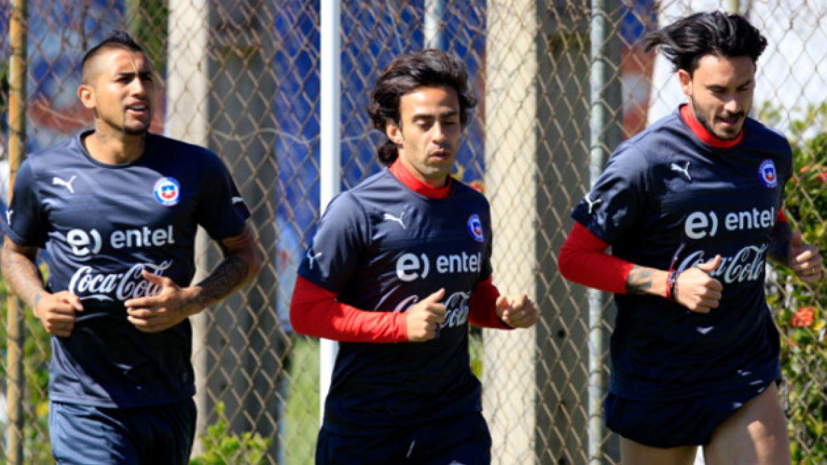 """La """"Roja"""" retorna a las prácticas para duelo ante Brasil"""