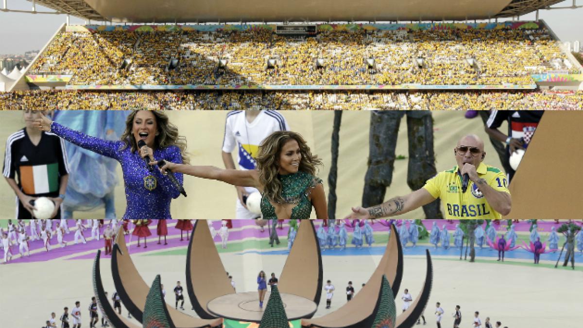 Los 5 errores que marcaron la deslucida ceremonia de inauguración de Brasil 2014