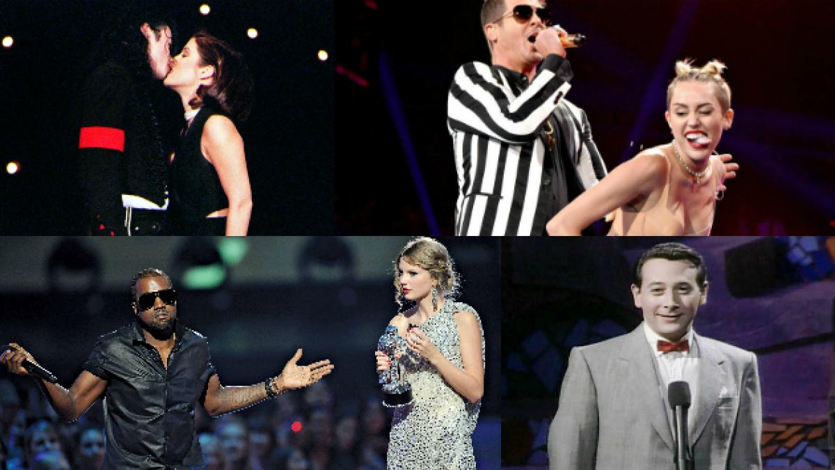 Los 15 momentos más escandalosos de los premios MTV, según Rolling Stone