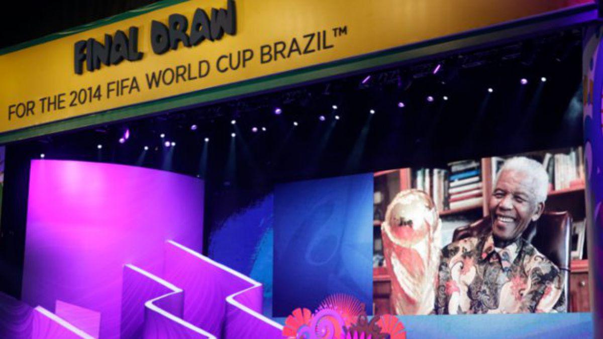 Comienza sorteo para el Mundial Brasil 2014