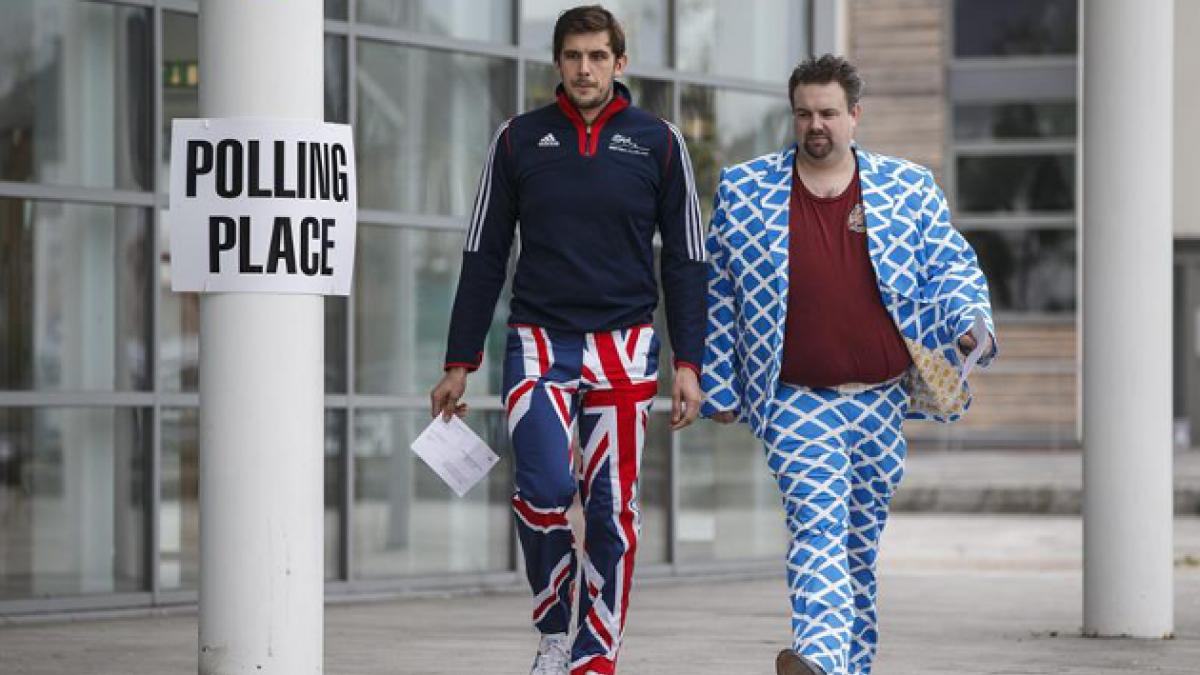 [FOTOS] Referéndum en Escocia: Así se vive el SI y el NO en Reino Unido