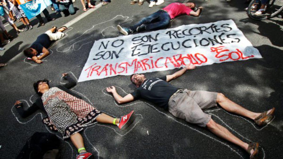 Marchas se toman 60 ciudades de España
