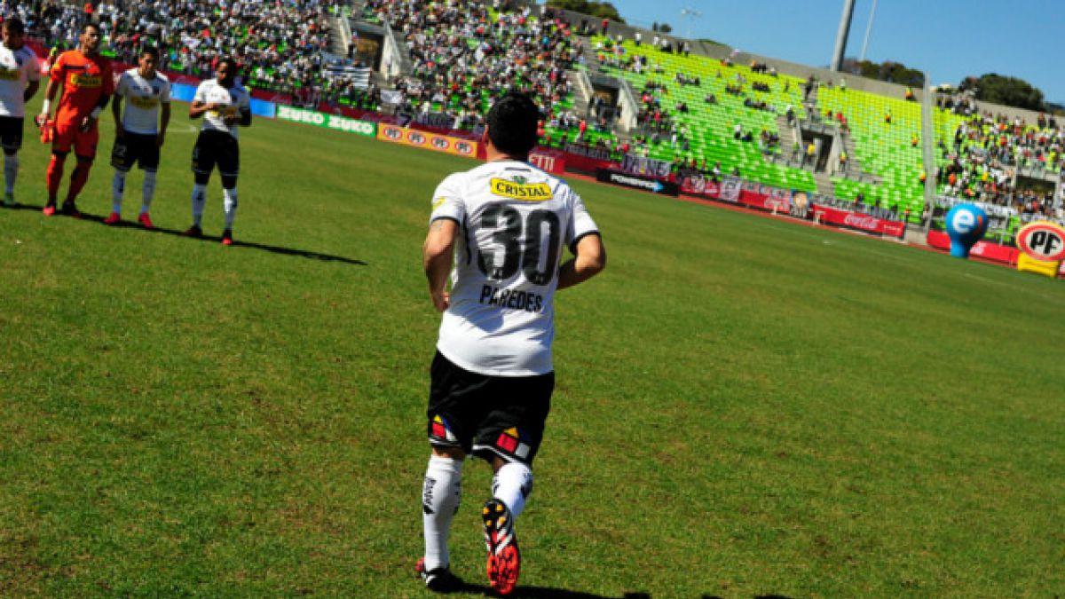 Paredes se olvida de la selección chilena dando un paso al costado