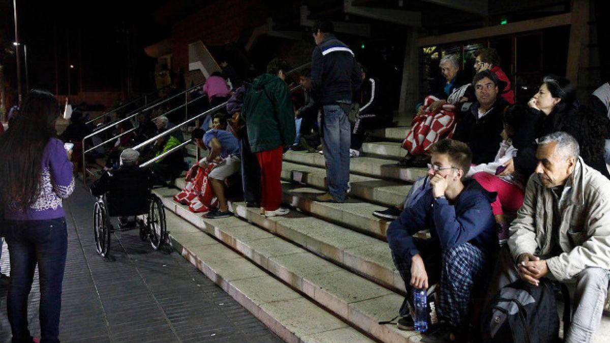 Onemi por sismo del norte: 85 mil evacuados y 56 réplicas