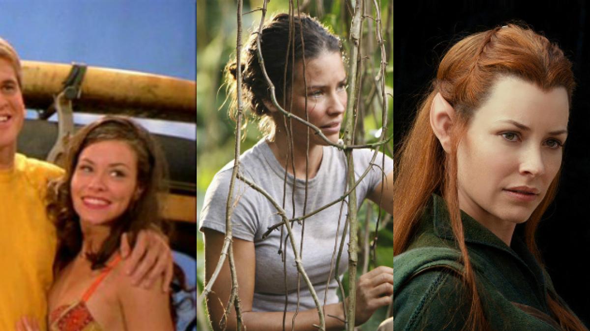 [FOTOS] La evolución de Evangeline Lilly en sus 12 años de carrera