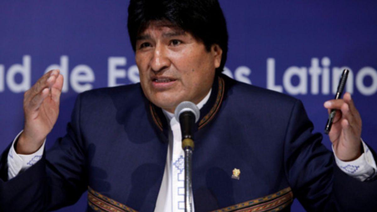 Evo Morales culpa a EE.UU. de la crisis política en Venezuela