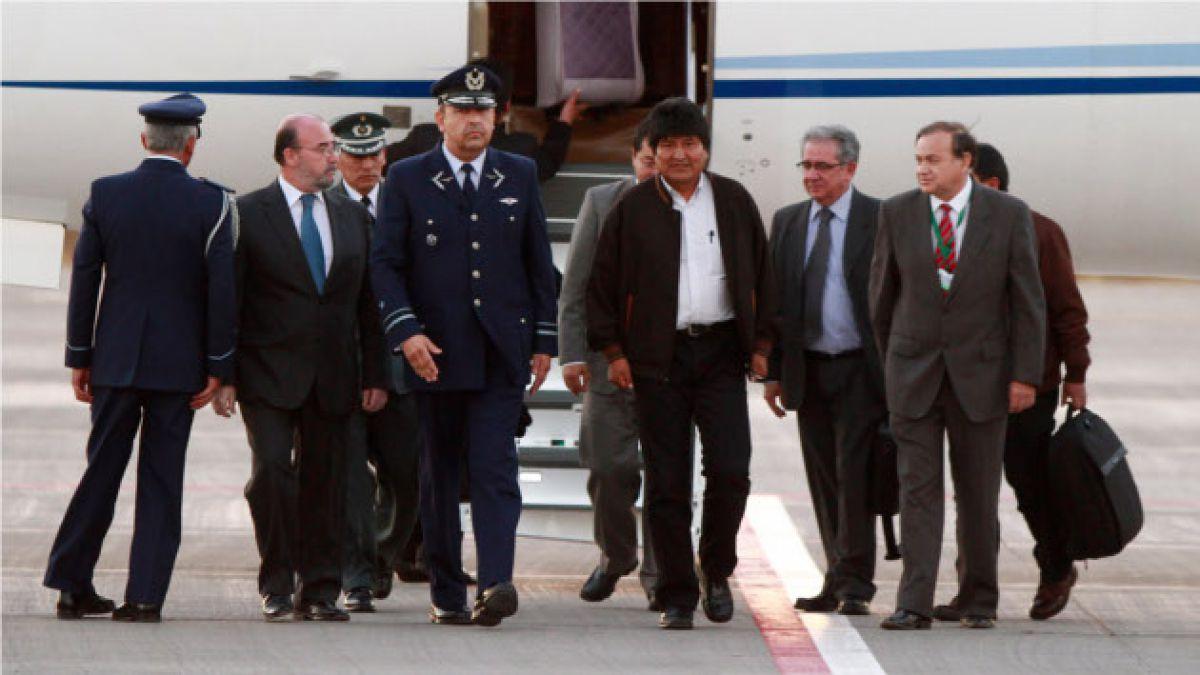 Morales espera trabajar con Bachelet de manera conjunta por el bien de nuestros pueblos