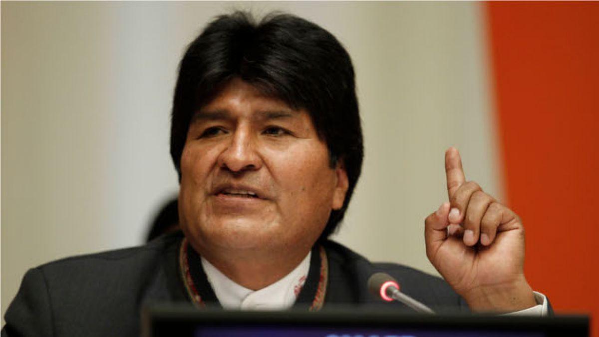 Evo Morales vendrá al cambio de mando y se referirá a demanda marítima