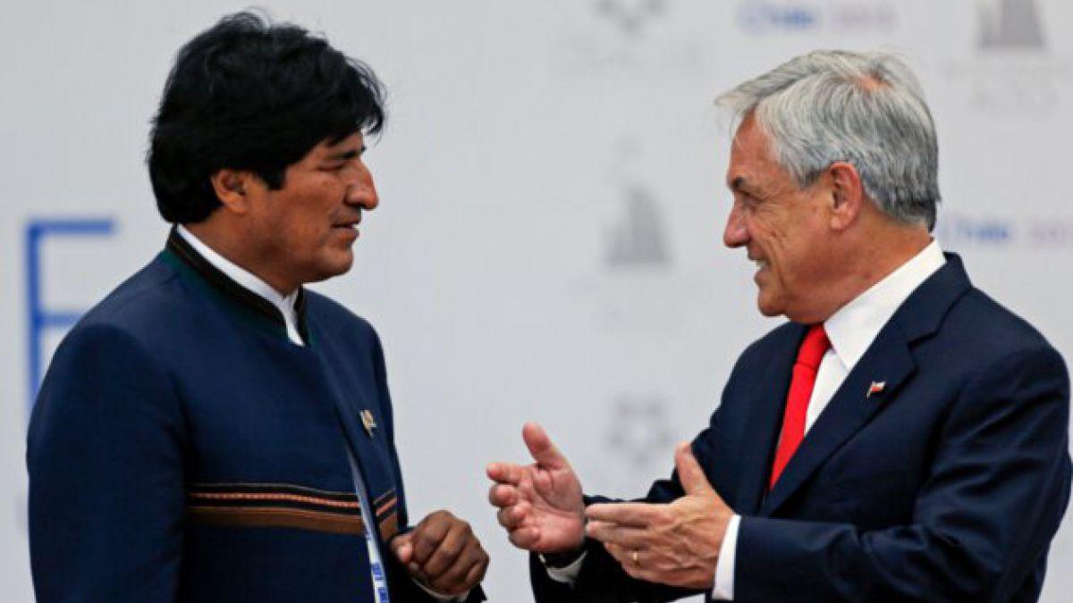 """Evo Morales acusa """"sospechoso"""" enriquecimiento de Presidente Piñera"""