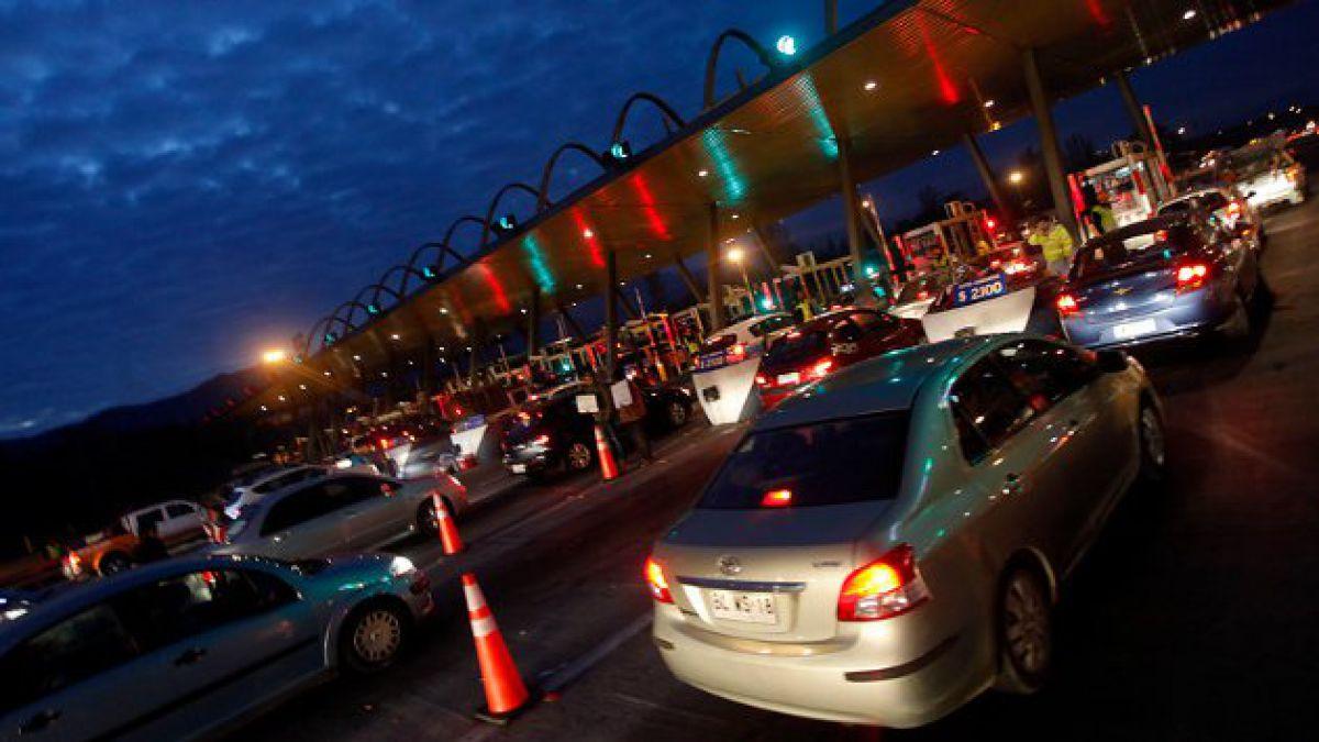 Más de un millón de personas saldrá de Santiago por Año Nuevo