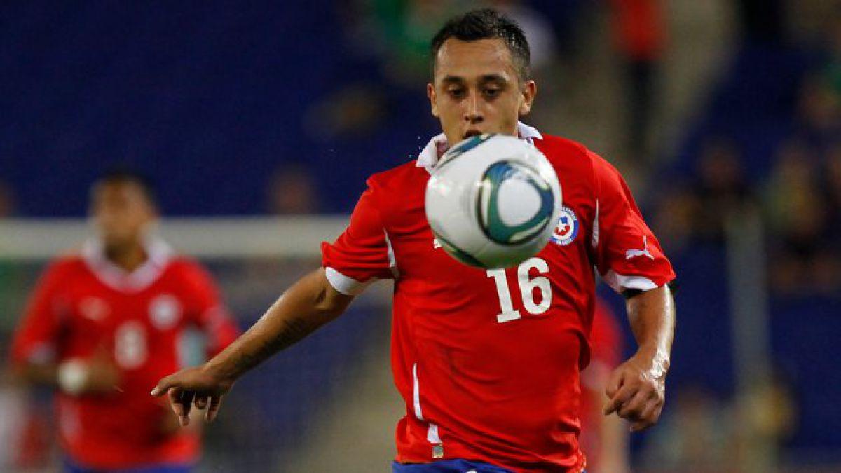 Celta de Vigo anuncia que Orellana será nominado para duelo de la Roja ante Alemania