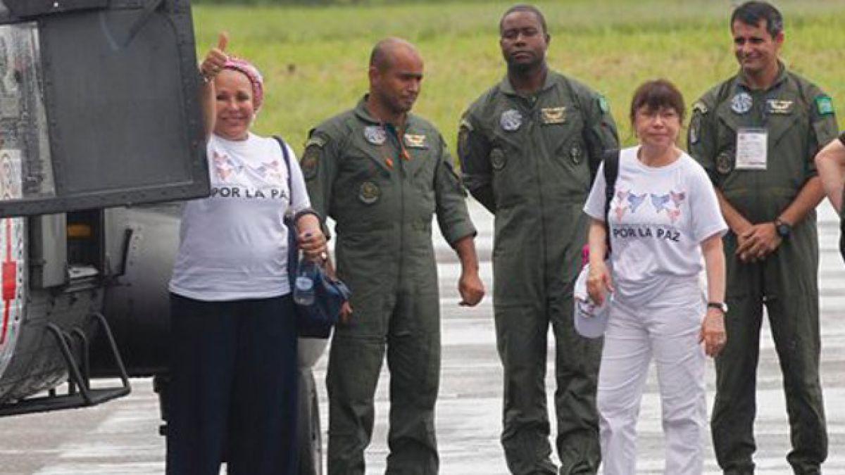 Entregado el primer grupo de rehenes de las FARC