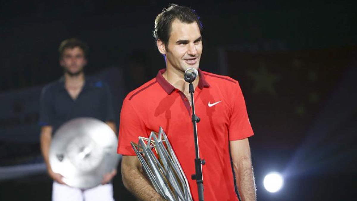 Federer vuelve a pensar en ser número uno tras su victoria en Shanghái
