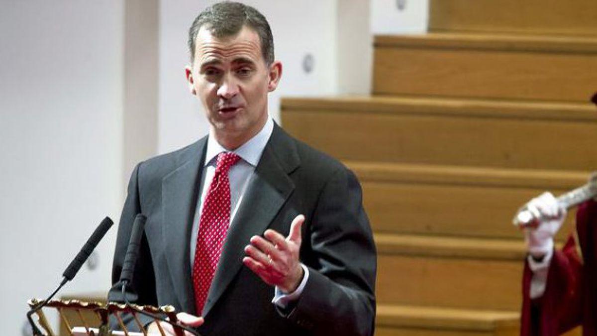 Príncipe de Asturias participará en toma de posesión de Bachelet
