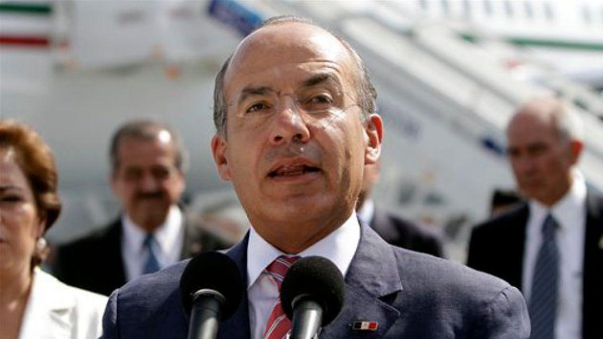 Calderón condena proteccionismo en América Latina