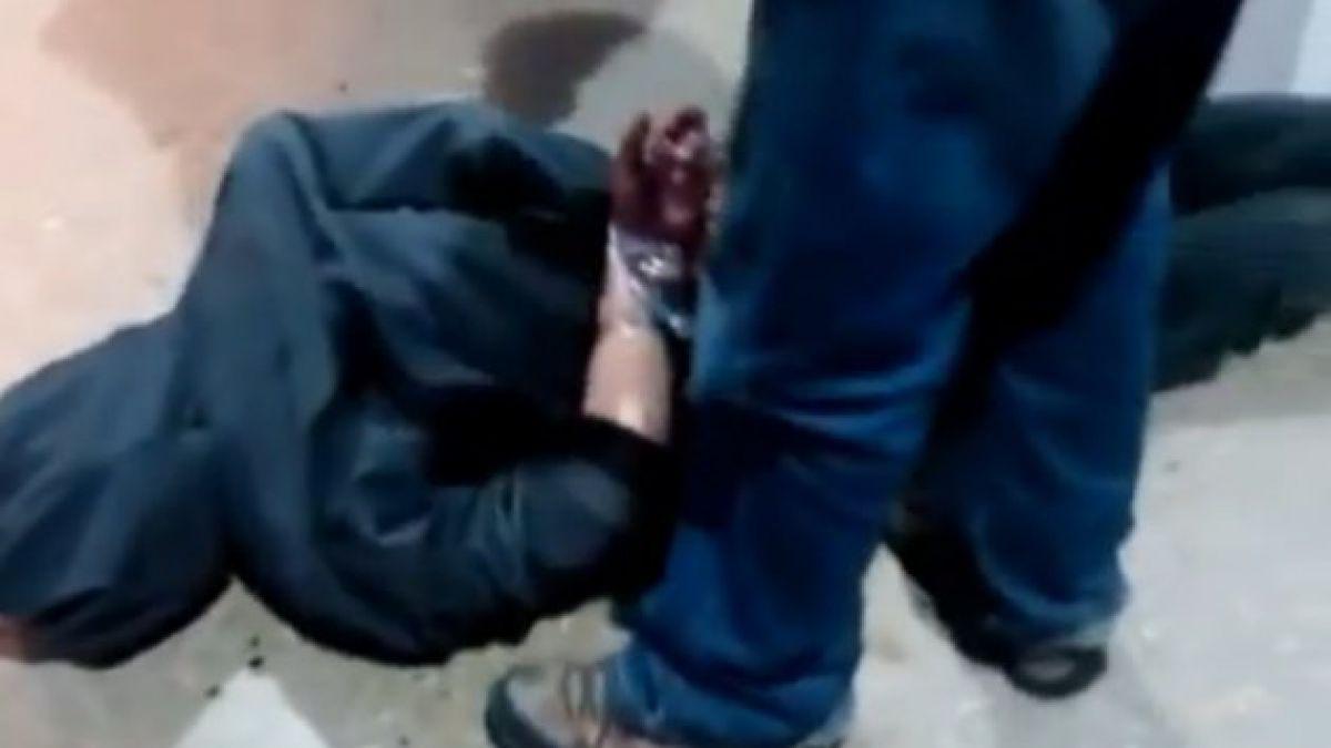 Registran reacción ciudadana ante intento de robo en ferretería