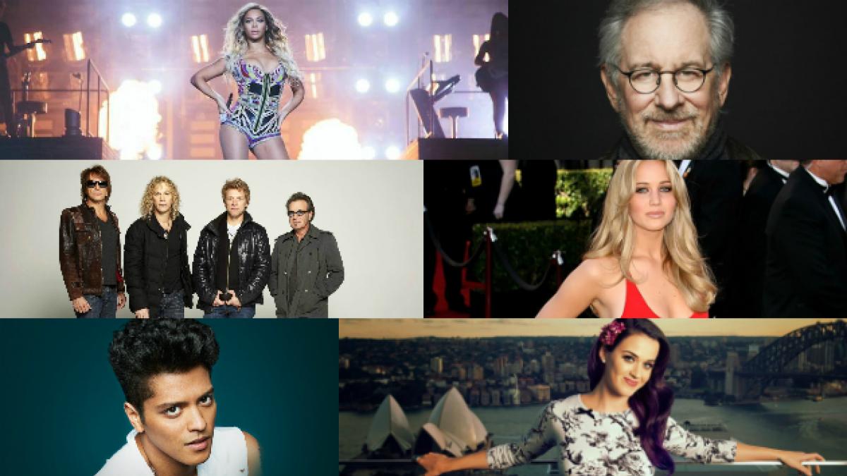 Estas son las 100 celebridades más poderosas del mundo, según Forbes