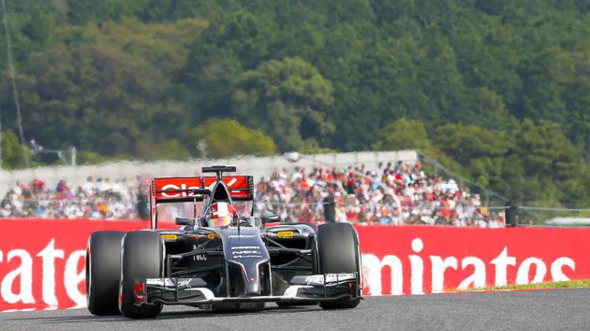 Hamilton le pisa los talones a Rosberg y arrancará segundo en el Gran Premio de Japón