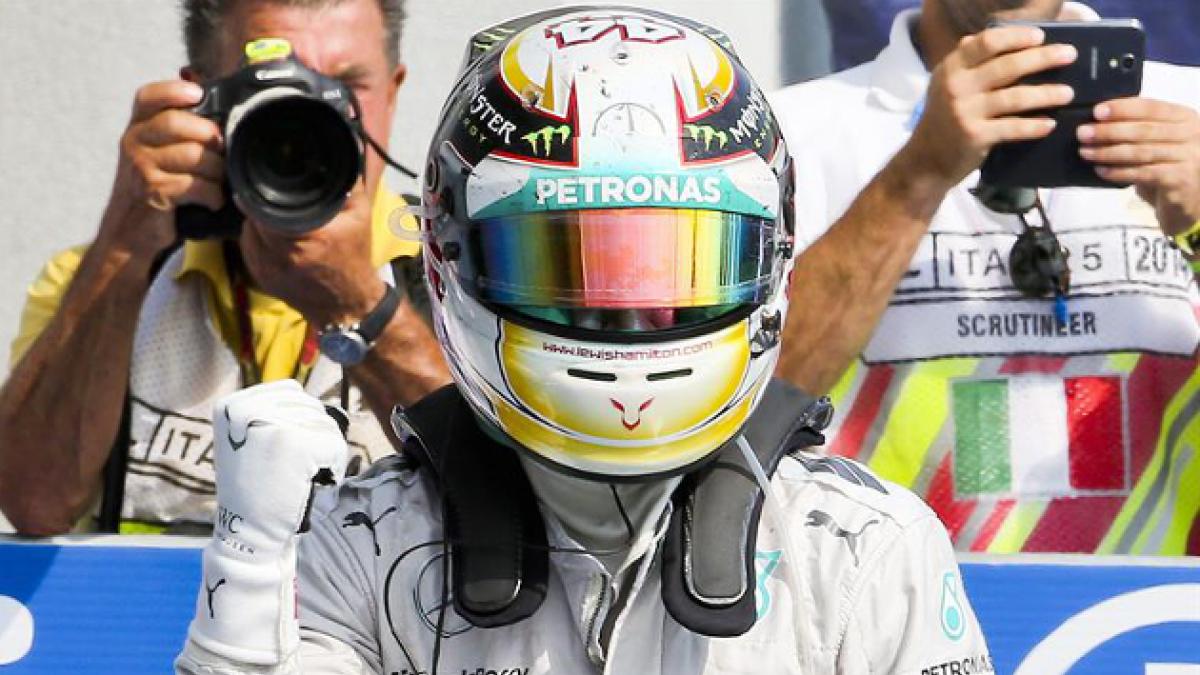 Hamilton adelanta a Rosberg y se instala en el Gran Premio de Italia