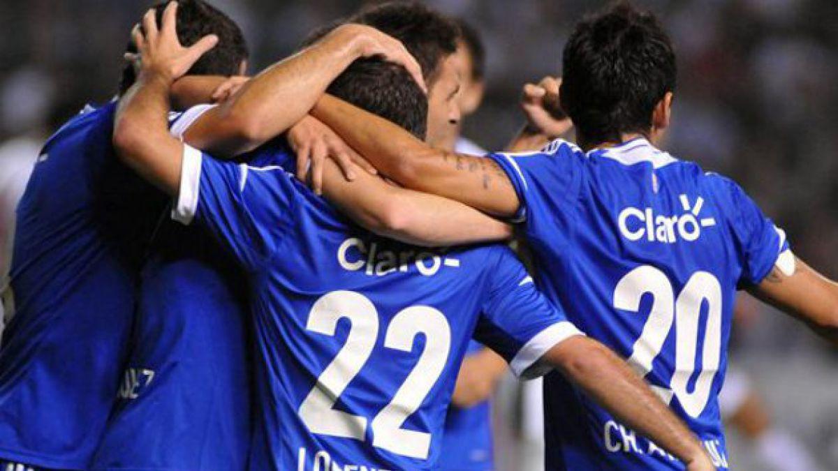 La U empató 1-1 con Libertad en Asunción