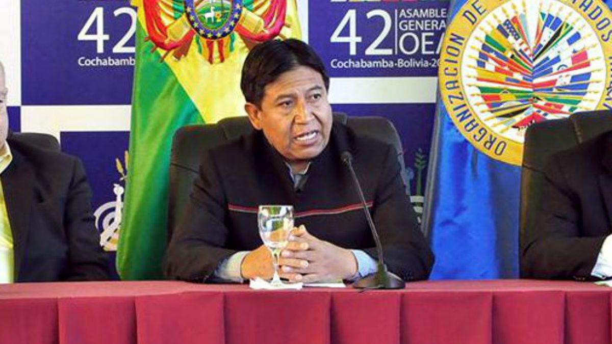 [Cumbre OEA] Canciller boliviano acusa a Chile de no cumplir tratados
