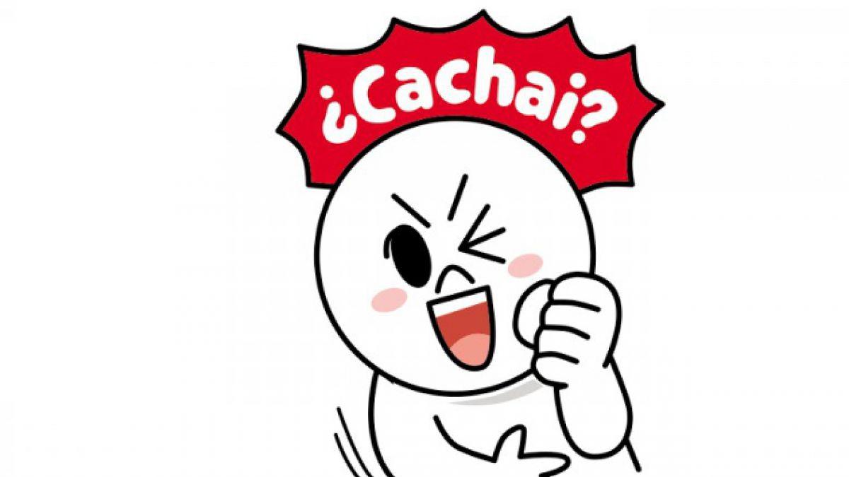 Line tendrá stickers con modismos chilenos