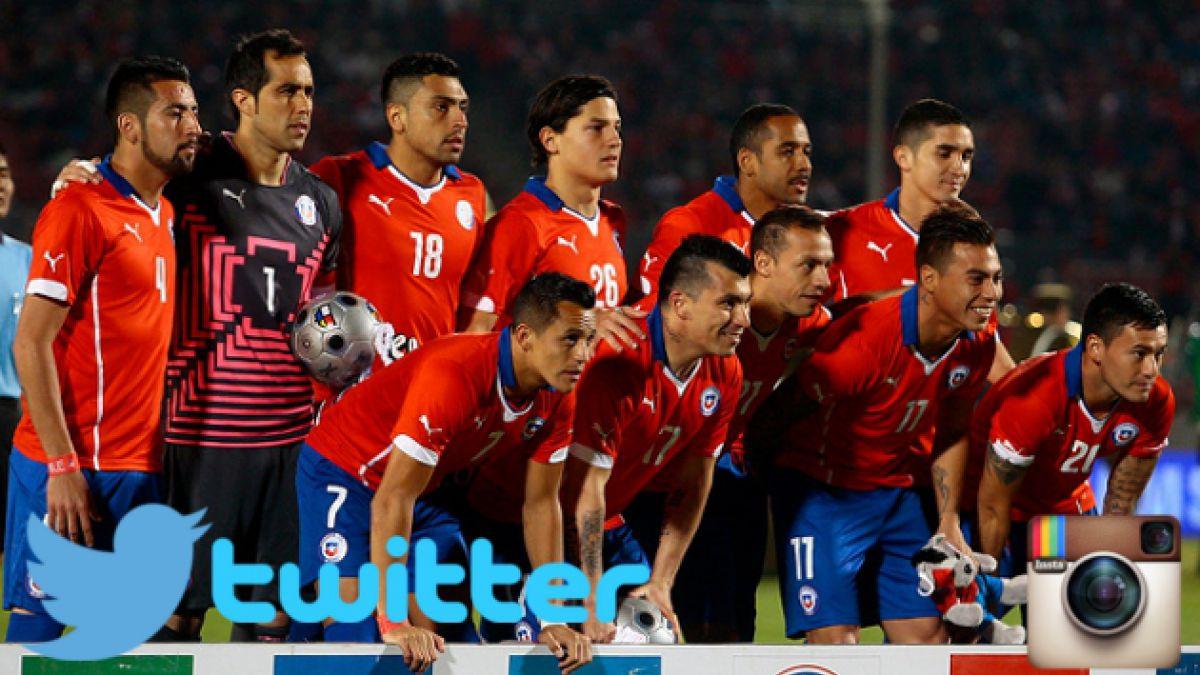 Las 15 cuentas de Instagram y Twitter para seguir a la Roja en el Mundial