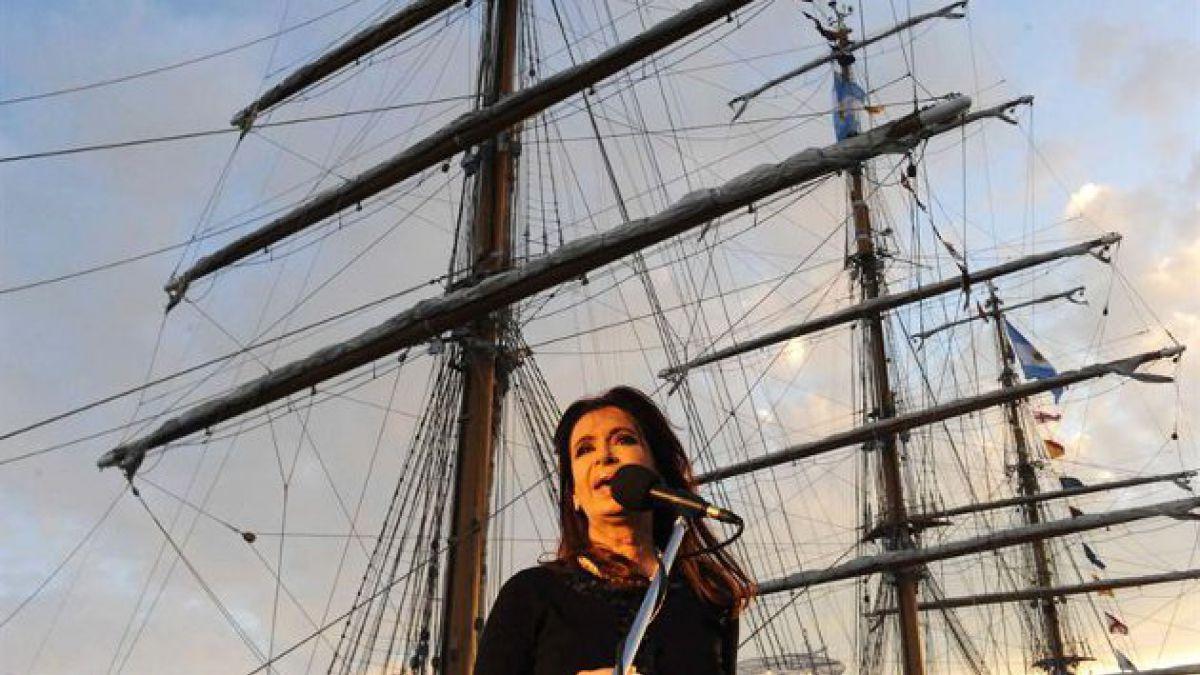 Fragata Libertad regresó a Argentina