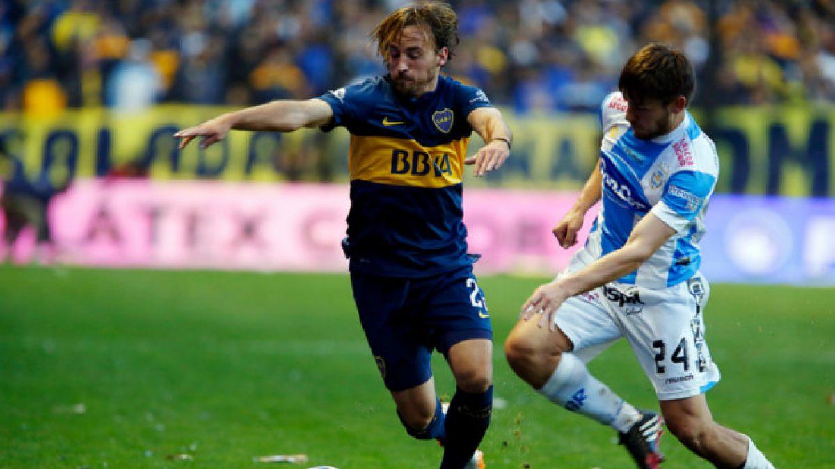 José Pedro Fuenzalida integra nómina de Boca Juniors para la Copa Sudamericana