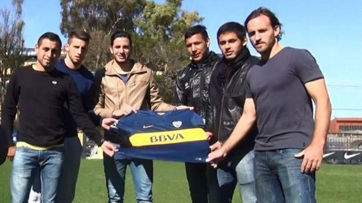[VIDEO] Los primeros días de José Pedro Fuenzalida en Boca Juniors