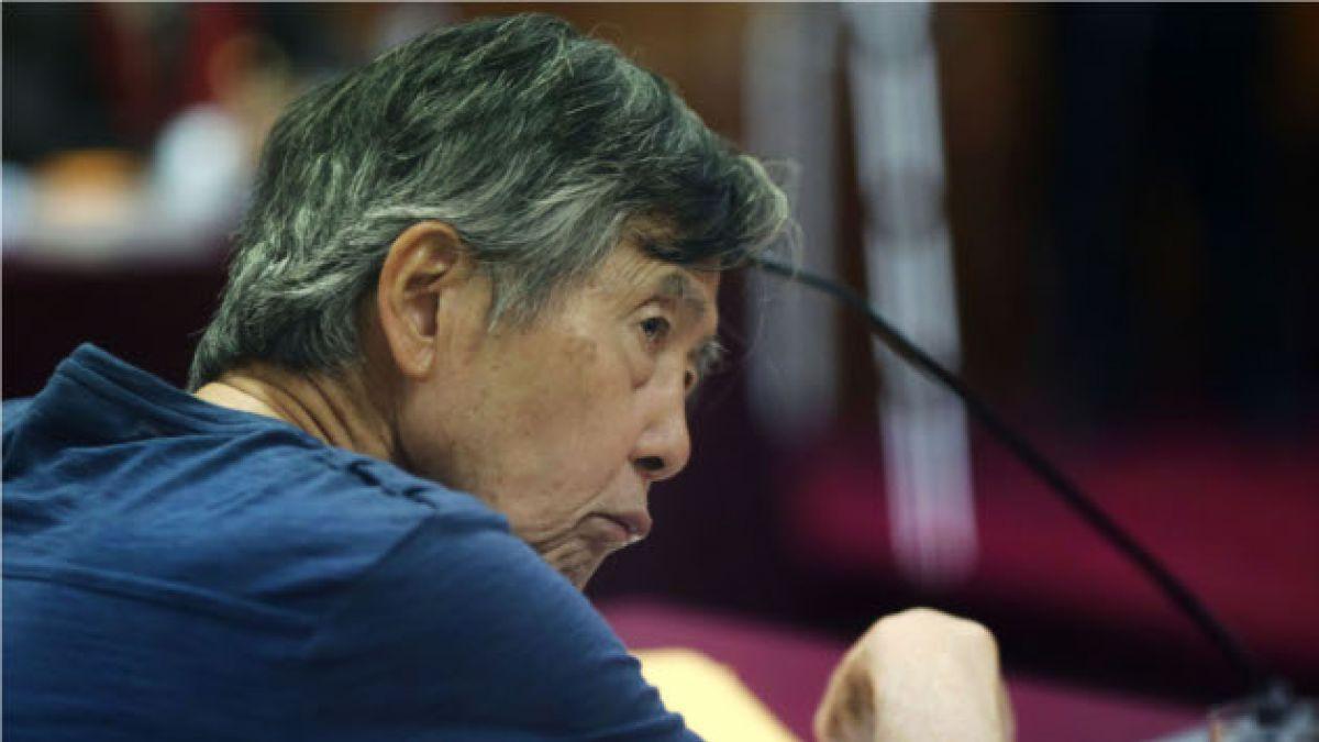 Alberto Fujimori habría sufrido un leve infarto cerebral