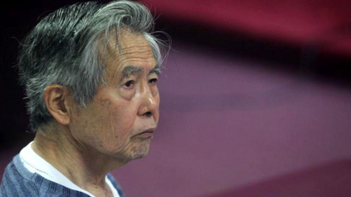 Afirman que Alberto Fujimori es el preso más caro de Perú