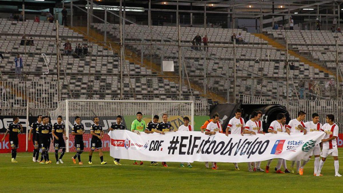 Colo Colo goleó a Selección Sifup en partido benéfico por catástrofe en Valparaíso
