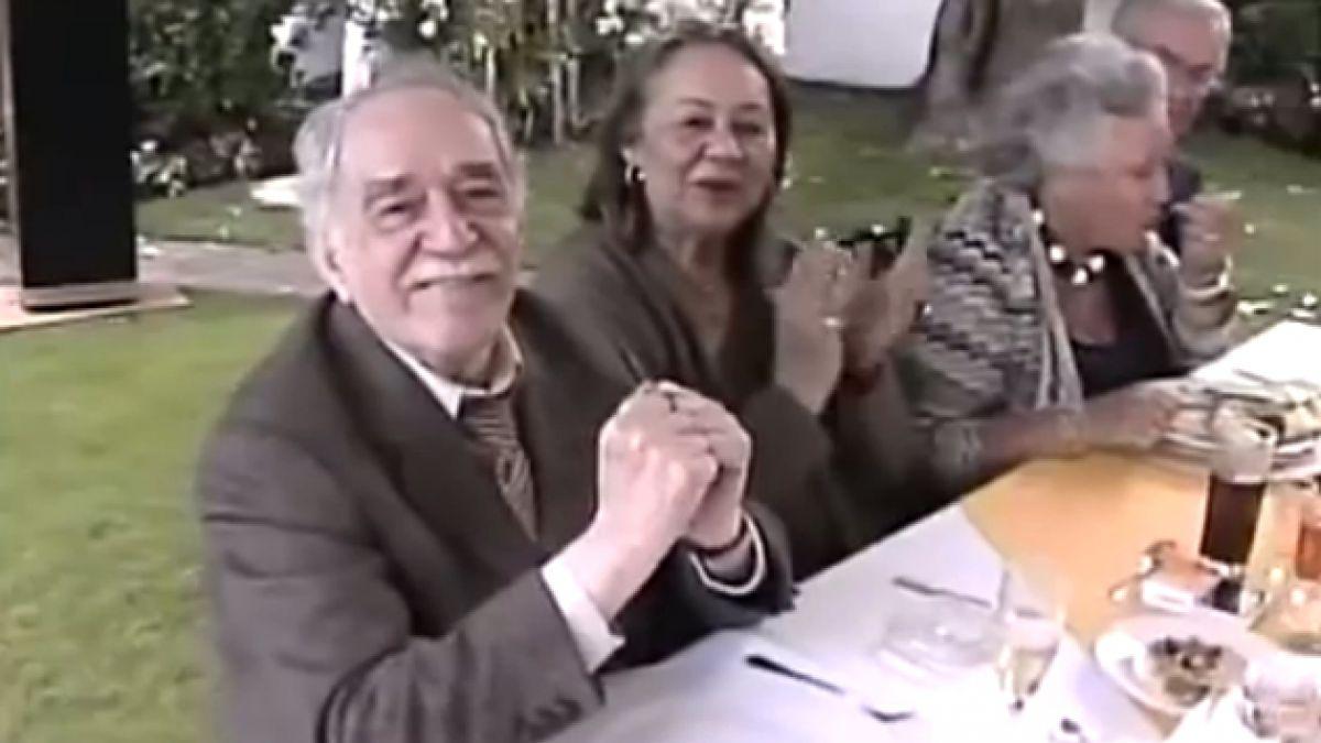 VIDEO: Uno de los últimos cumpleaños de un García Márquez enfermo pero feliz