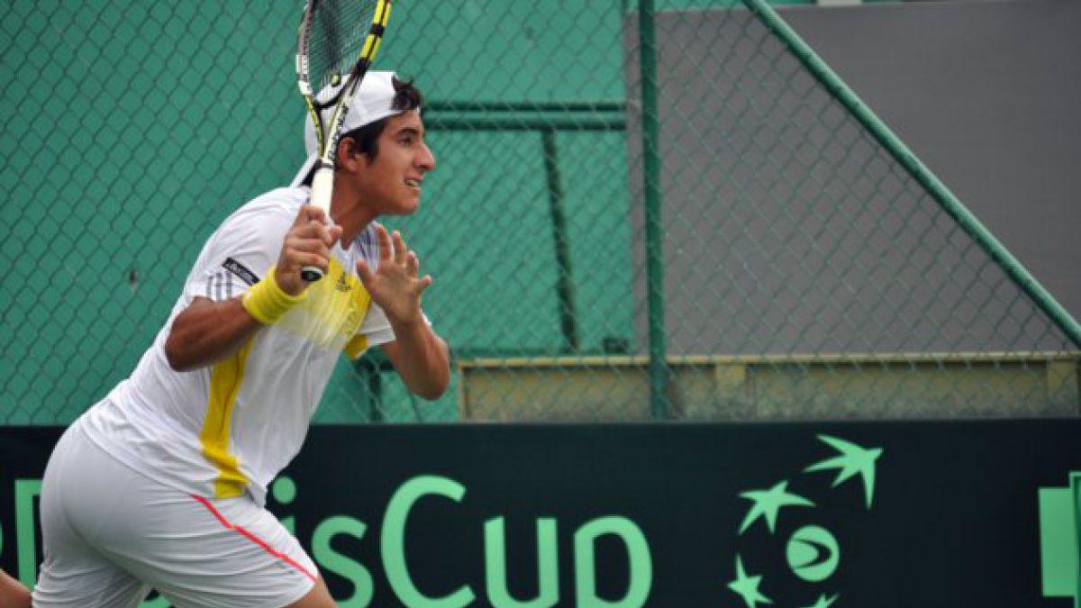 Garín cae y Chile pierde la serie en Copa Davis