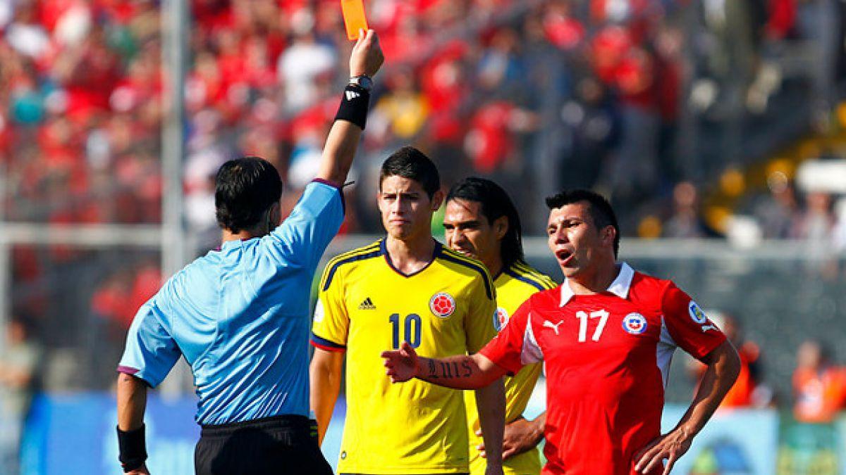 Gary Medel pidió disculpas por expulsión ante Colombia