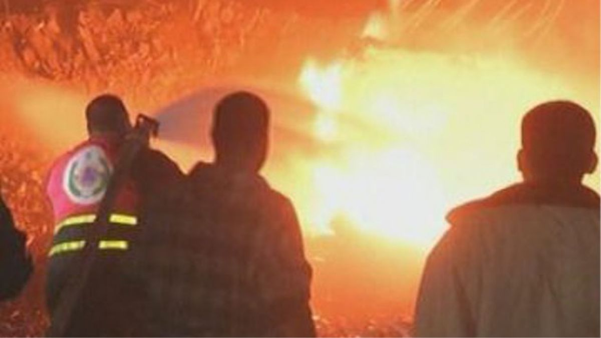 [VIDEO] Ataque aéreo israelí destruye barrio en Gaza en el transcurso de una hora