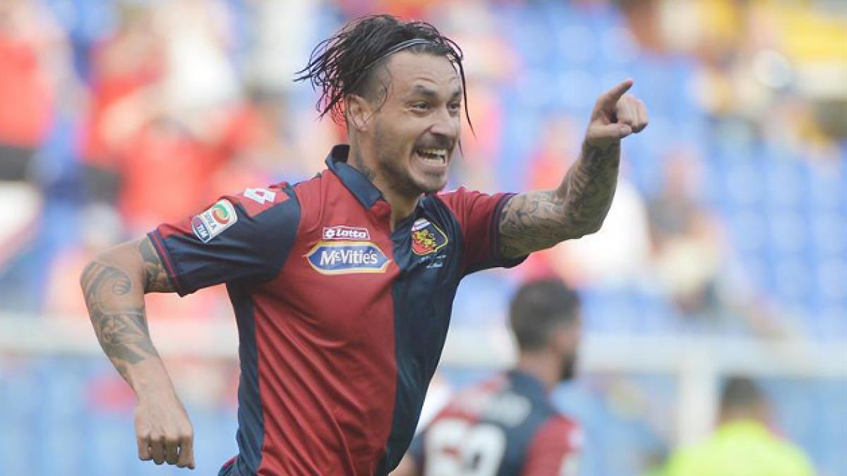 Mauricio Pinilla anota gol que le da el triunfo a Genoa sobre Lazio