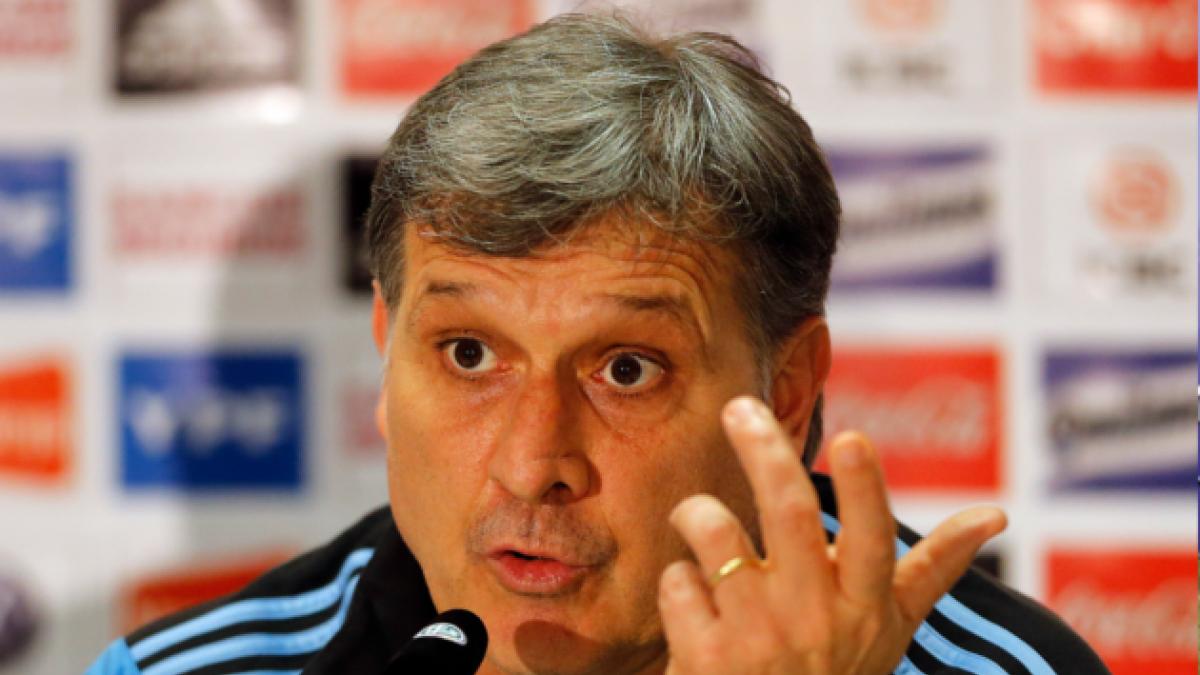 Martino por derrota ante Brasil: El cambio de horario lo sentimos todos, no sólo Messi