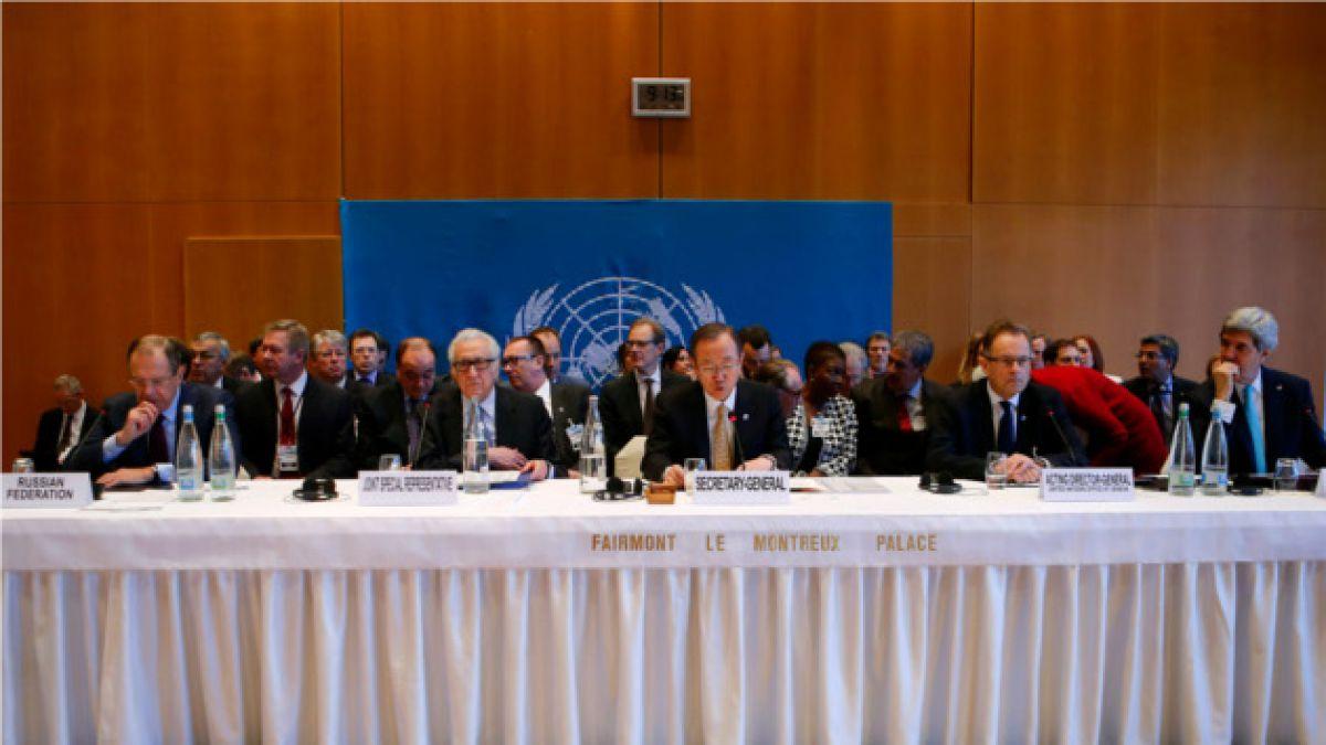 Gobierno de Siria amenaza con dejar conferencia de paz en Ginebra