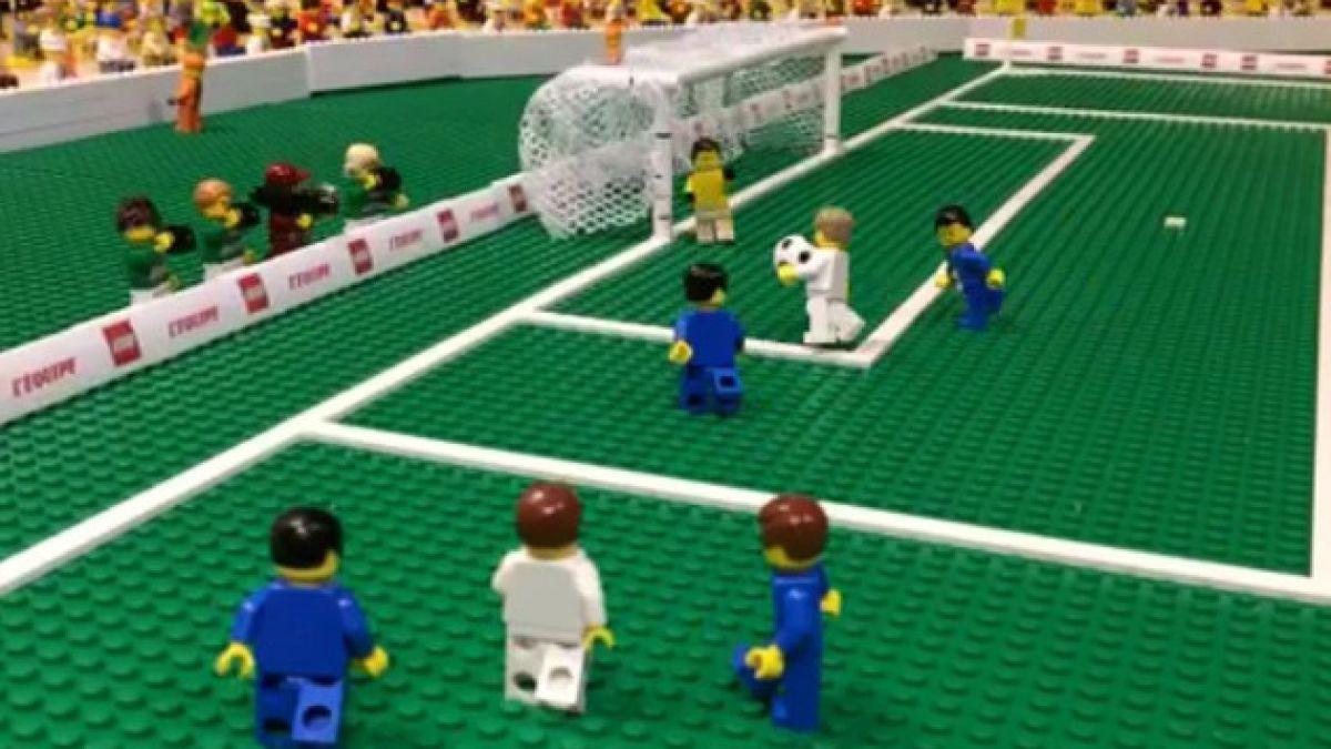 Así fue el gol de Mario Götze en la final de Brasil 2014 en versión Lego