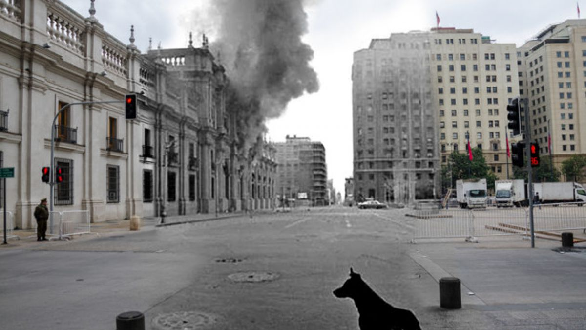 [FOTOS] Reconstruyen el Golpe de Estado en imágenes que mezclan pasado y presente