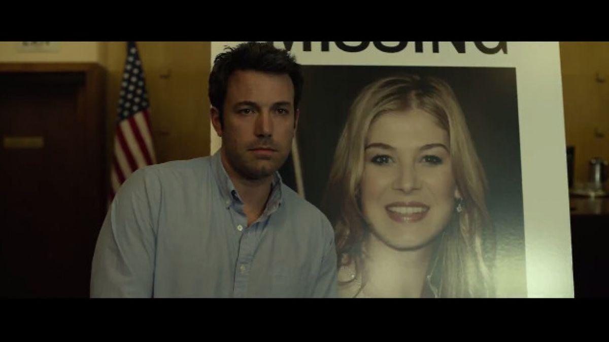 """VIDEO: El primer trailer de """"Gone Girl"""", la nueva película de Ben Affleck"""
